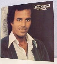 """33 tours Julio IGLESIAS Disque Vinyl LP 12"""" AIMER LA VIE -CBS 82854 Frais Reduit"""