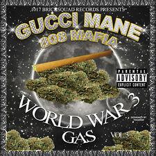 Gucci Mane - World War 3: Gas MIXTAPE new cd 808 mafia vol iii 1017 bricksquad