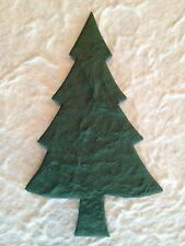 10 Pine Fir Trees evergreen tree handmade mulberry paper Christmas Cards Xmas