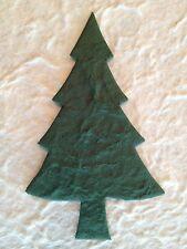 10 Pine Fir Trees evergreen tree handmade mulberry paper Christmas Cards Xmas