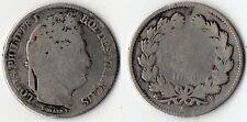 TOP RARE MONNAIE DE 1 FRANC LOUIS PHILIPPE EN ARGENT DE 1833 B @ ROUEN @ QUALITE