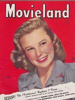 JULY 1945 MOVIELAND movie magazine JUNE ALLYSON
