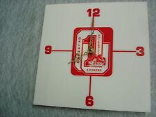 Vintage 1978 OU Oklahoma Sooners Football Electric Wall Clock Mint !