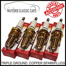 AC9C, BP6ES triple ground titanium Spark plugs for MGB