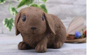 Steinfigur Hase Kaninchen 200/2, Gartenfigur Gartendeko Geschenk Figur Tierfigur