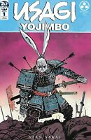 Usagi Yojimbo Comic Issue 1 Limited Variant Modern Age First Print 2019 Sakai .