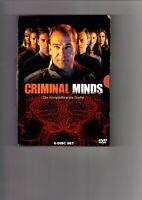 Criminal Minds - Die komplette erste Staffel  [6 DVDs] (2007) DVD 4390