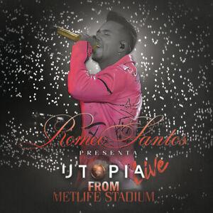 Romeo Santos - Utopia Live From Metlife Stadium [New CD]