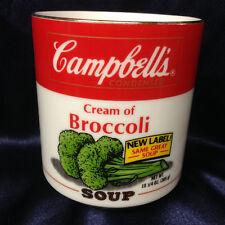 WORLD WIDE LINE PORCELAIN CAMPBELL'S CREAM OF BROCCOLI SOUP BOWL MUG 16 OZ
