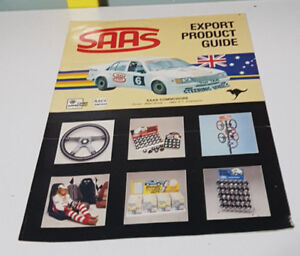 SAAS EXPORT PRODUCT GUIDE! SAAS VINTAGE ADVERTISING BROCHURE!