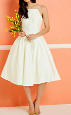Modcloth Beloved and Beyond Midi Dress Ivory ChiChilondon NWT $175 Sz 26 Wedding