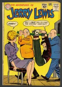 The Adventures Of Jerry Lewis #63 - Silver Age - DC Comics (1961) FN