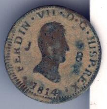 Cincin19,Escasos 8 mrvds JUBIA ,Fernando VII,1814