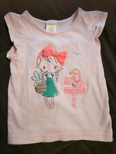 Gymboree Island Cruise 2T 4T Pink Beach Girl Shirt Summer 15