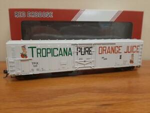 HO Red Caboose R-70-15 Tropicanna Refrigerator #529 (RR-34811-03)