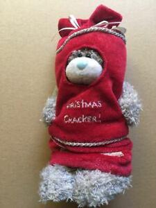 ~ ME TO YOU ~Tatty Teddy ~ Christmas Cracker Bear ~ 6 inch ~ NEW ~