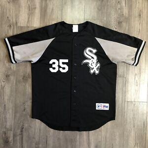 Frank Thomas #35 Vintage Majestic Jersey Chicago White Sox MLB STITCHED XL