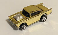 Hotwheels 1957 57 Custom Blown Chevy Bel Air Chrome Gold Near Mint! Loose!