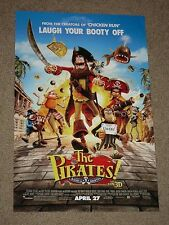 THE PIRATES BAND OF MISFITS - Movie Poster - Flyer - 11x17 - VERSION B