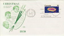 CANADA #529 10¢ CHRISTMAS 1970 FIRST DAY COVER