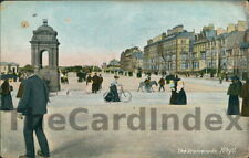 RHYL Esplanade / West Parade Postcard FLINTSHIRE Hartmann  Cycle