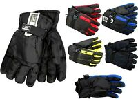 MENS THERMAL SNOWBOARD SKI GLOVES WATERPROOF INSULATED SNOW SPORTS