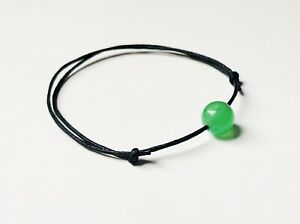 Handmade Green Aventurine Gemstone Bracelet metabolism Lost Weight Control Detox
