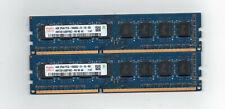 8GB (2X 4GB) DDR3 1333 PC3-10600  Desktop Computer Memory PC Ram