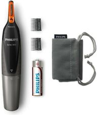 NEW Philips Nose Trimmer Series 3000 NT3160/10 Trims Nose, Ear, Eyebrows for Men