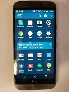 HTC One M9 32GB sprint GSM 4G LTE Octa-Core Android Phone w/ 20MP Camera - Gray