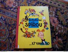 Spirou et Fantasio Franquin 4 aventures 1955 édition originale française eo