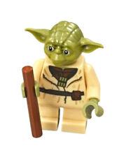 NEW LEGO YODA MINIFIG star wars minifigure figure dagobah 75208 hut