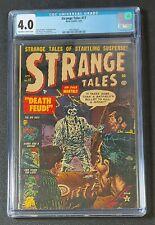 Strange Tales #17 (Atlas Comics, 1953) CGC 4.0 Pre-Code Horror Stan Lee Story