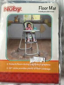 Baby Mat x2 Dinosaurs//Unicorns No Mess Baby Floor Cover High Chair New Free Del