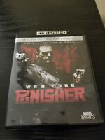 PUNISHER WAR ZONE 4K Ultra HD UHD + Blu-ray
