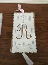 Brand New Pottery Barn Wall Kids Tin Letter R