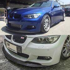 BMW E92 E93 3 Series 328 335 M Sport Carbon Fiber Front Lip Spoiler 2007 - 2010