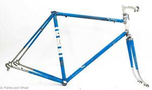 1970s Legnano Roma Olimpiade 56cm steel frameset Italian BB classic road bike