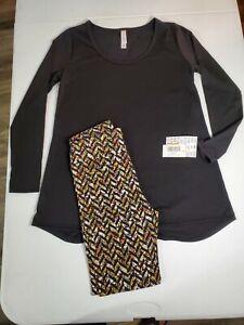 NWT Lularoe Lynnae black sz: XS, w/ One size fits all leggings