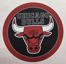 Chicago Bulls Round Metal Sign