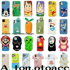 3D Cute Disney Cartoon Silicone Phone Case For iPhone 11 Pro Max XS XR 6 7 8plus
