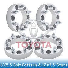 "1.5"" Toyota 6 Lug Wheel Spacers 6x5.5 6x139.7 Fits For Tacoma 2001 - 2017"