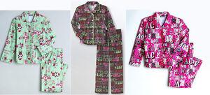JOE BOXER Flame Resistant Girls Santa Love Peace.. 2PC Pajamas Set 4/5, 6/6X NWT