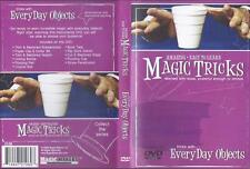 DVD:  AMAZING EASY TO LEARN MAGIC TRICKS WITH EVERY DAY OBJECTS