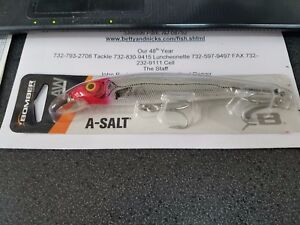 """1 Bomber A-Salt Lure REDHEAD 5 3/4"""" 1oz DISC. FOR 2+ FREE SHIPPING"""
