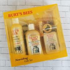 Burts Bees Nourishing Gift Set Bathing Grooming Body and Skin Care Beauty Set