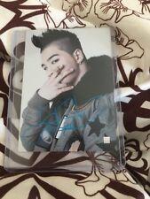 Big Bang Taeyang Etched Starcard Rare official Photocard card Kpop K-pop