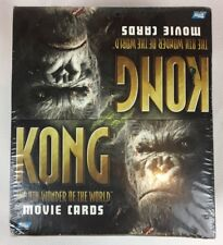 King Kong Movie Cards 24 Packs Of 7 Cards New Retail Display Pack Sealed Rare