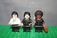 "Lego ® 3 MOC Figuren "" Pulp Fiction "" ™  - Jules W. Banksy, Mia, Vincent Vega"