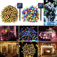 100/200 LED Solar Powered Fairy String Lights Garden Xmas Party Outdoor Solar